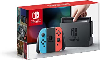 Nintendo Switch – Neon Red and Neon Blue Joy-Con (Renewed)