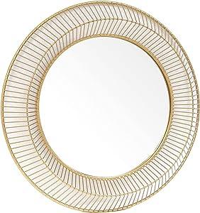 HOSERIMO Round Accent Wall Decorative Mirror 32