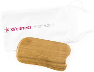 Grattage de qualité Gua Sha de WellnessInPerfektion WIP GmbH I Accessoires et aide massage Fascia, outil de massage manuel...