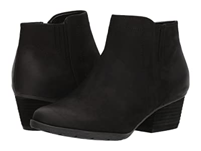 Blondo Valli Waterproof Bootie (Black Leather) Women