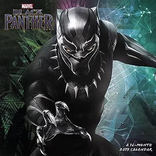 Black Panther Wall Calendar (2019)