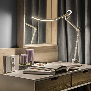 BenQ WiT Eye Care e-Reading LED Desk Lamp - Perfect for Designers Engineers Architects Studying - Gold