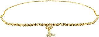 Handicraft Kottage Gold Metal Belly Chain for Women (HK-BLCA-20189)
