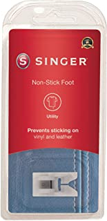 SINGER | Non-Stick Foot Snap-On Presser Foot, Slick Underside for Effortless Sewing, Wide 7mm Needle Slot - Sewing Made Easy