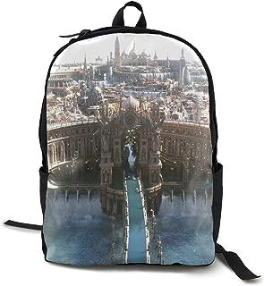 Final Fantasy XV-Luna Anime Cartoon Cosplay Canvas Shoulder Bag Backpack Cute Lightweight Travel Daypacks School Backpack Laptop Backpack
