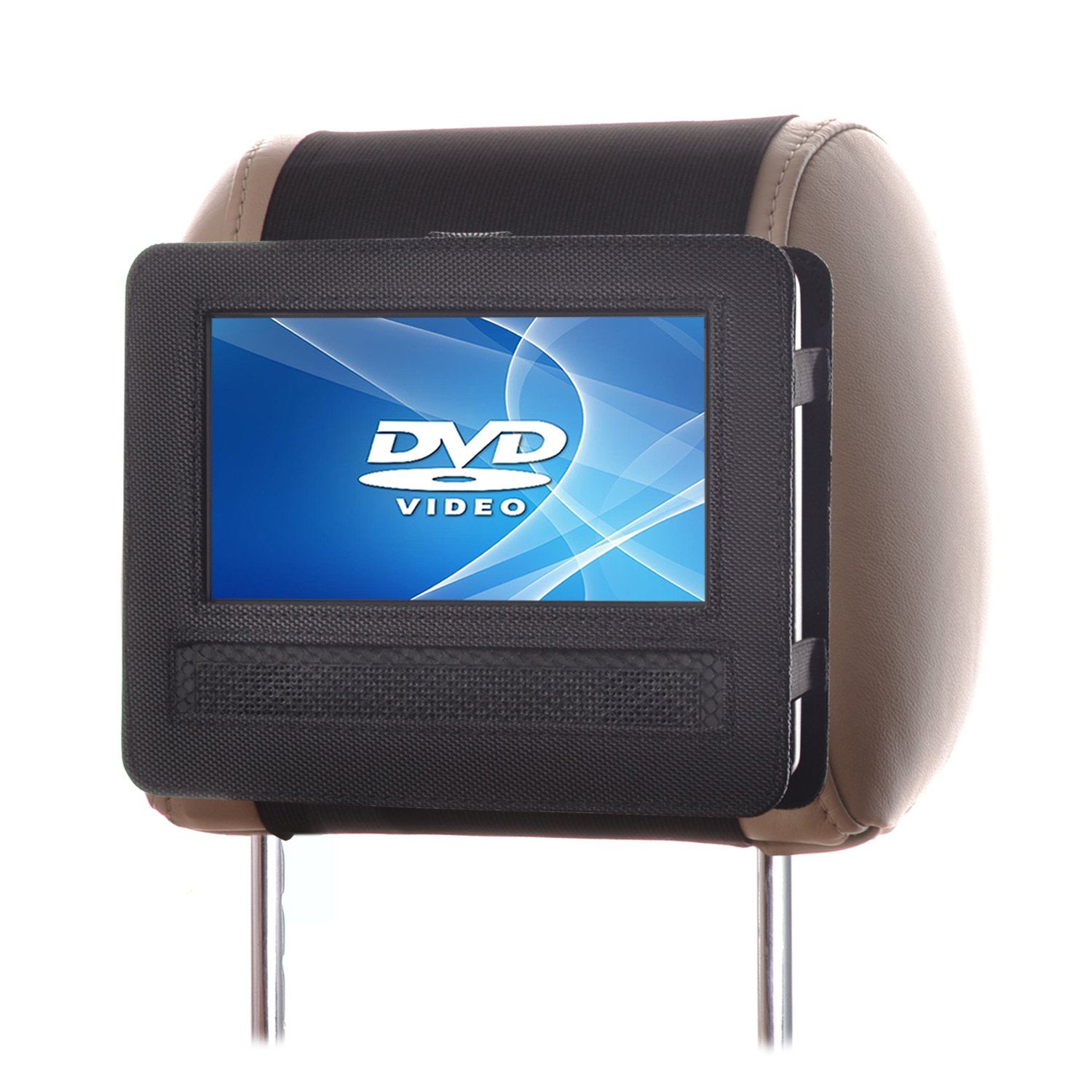 TFY Mount DVD 7 Headrest Swivel Portable