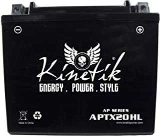 Kinetik 12V 18AH SLA Battery for Moto Guzzi 500 Falcone u.t.