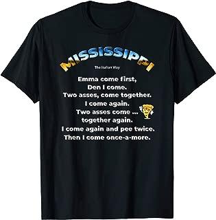 Funny Italian Joke How to Spell Mississippi Gift