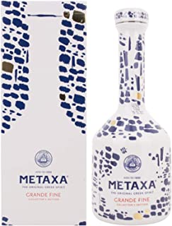 "Metaxa GRANDE FINE Collector""s Edition Keramikflasche  GB 40,00% 0.7 l."