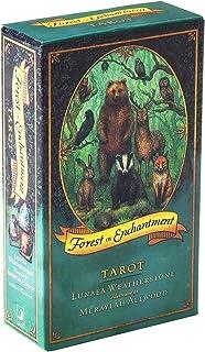 BSWL 78 Cartas/Magic Forest Tarot, predicción del Destino Futuro, guía de adivinación de Cartas de póquer, Katarot Song of...