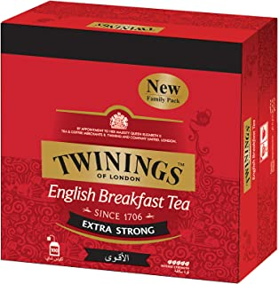 Twinings Extra Strong English Breakfast Tea - 100 sachets