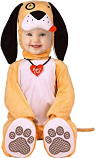 SHABIER Puppy Dog Outfit for Kids Infant Baby Halloween Costumes (80cm) Orange