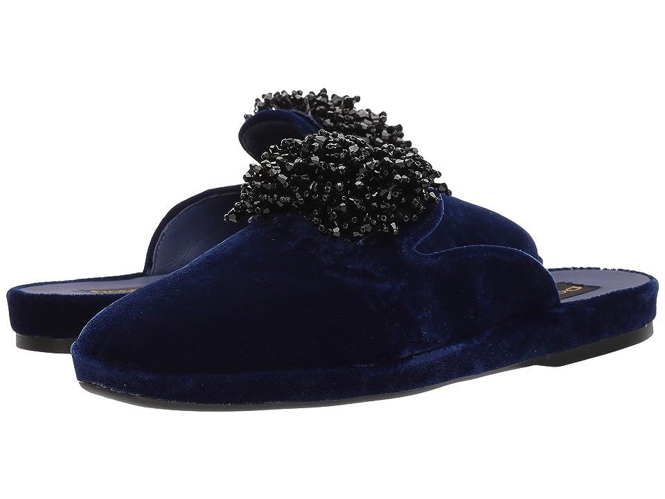 Donna Karan Cara Mule (Sapphire Velvet) Women