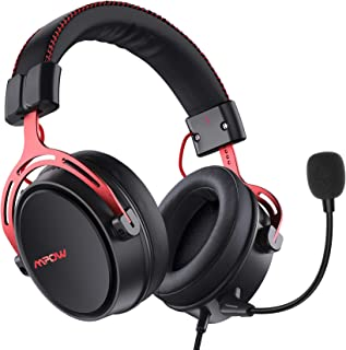 Mpow Air SE Gaming Headset for Xbox One PS4 PS5 PC Switch - Gaming Headphones with Fixed Mic, Over-Ear Gaming headsets wit...