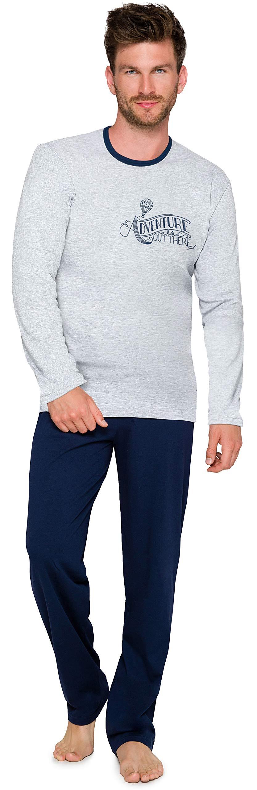 Pyjama Ensemble Haut et Bas Vêtements d'Intérieur Homme 1010