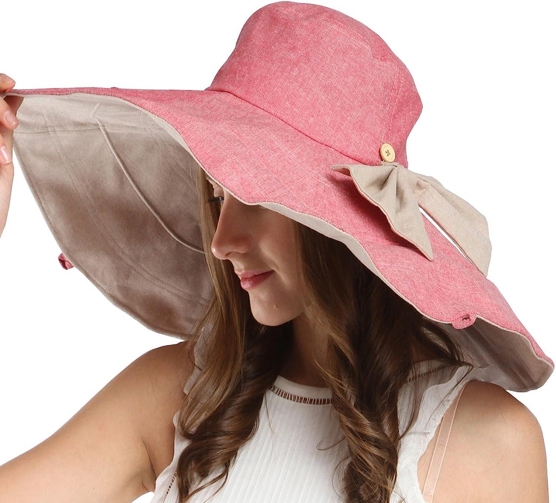 Maitose Trade; Women's UV Sun Predection Beach Wide Brim Fishing Hat