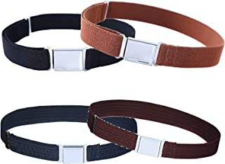 4PCS Kids Boys Adjustable Magnetic Belt - Elastic Belt...