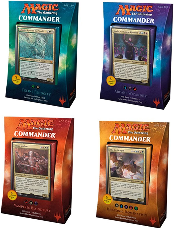 Commander 2017 MTG Magic The Gathering Bundle