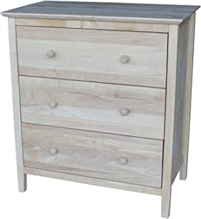 Best unfinished 3 drawer chest Reviews