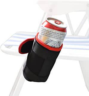 YYST Foldable Beach Chair Cup Beach Chair Drink Holder - No Chiar Included