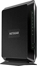 $178 Get NETGEAR Nighthawk Cable Modem WiFi Router Combo C7000-Compatible with all Cable Providers including Xfinity by Comcast, Spectrum, Cox | For Cable Plans Up to 400 Mbps | AC1900 WiFi speed | DOCSIS 3.0