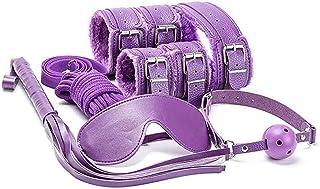 Massaggio Accessori Giocattoli Per La Donna/Coppie Giochi Kit Viola Regolabile