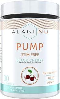 Alani Nu Pump Stim Free - Black Cherry - 30 Servings