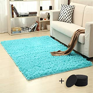Home Textiles,Household Blanket Super Soft Faux Fur Rug For Bedroom Sofa Living Room Area Rugs Sky Blue Household Super Soft Artificial Fur Rug Bedroom Sofa Living Room Area Rug 80x160cm