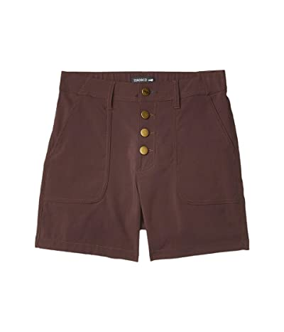 Toad&Co Rover High-Rise Shorts (Raisin) Women