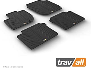 Travall Mats Compatible with Honda HR-V (2015-2018) TRM1260 - All-Weather Rubber Floor Mats