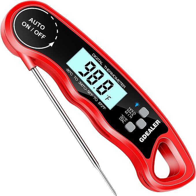 GDEALER DT09 Waterproof Digital Thermometer – Best for Amateur Cooking