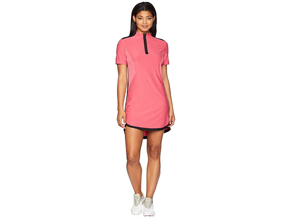 Nike Golf Zonal Cool Dress (Rush Pink/Black) Women