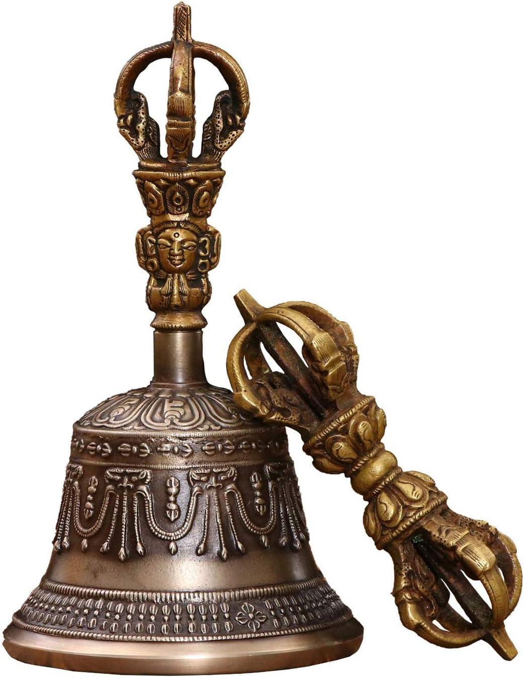 LGYKUMEG Tibetan Very popular Buddhist Meditation Medi Hand Cheap bargain Bell