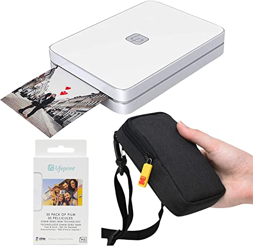 lowest Lifeprint sale 2x3 Portable Photo and Video Printer outlet sale (White) Travel Kit online sale