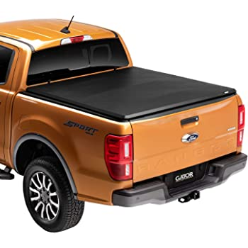 Amazon Com Lund Genesis Tri Fold Soft Folding Truck Bed Tonneau Cover 95014 Fits 1983 2011 Ford Ranger 6 Bed 72 Automotive
