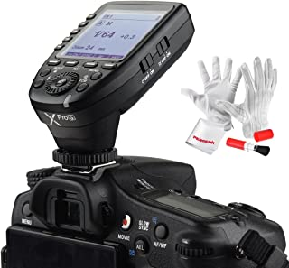 Godox Xpro-S for Sony TTL Wireless Flash Trigger 1/8000s HSS TTL-Convert-Manual Function Large Screen Slanted Design 5 Ded...