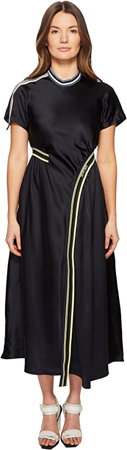 Sportmax - Runway Desio Short Sleeve Asymmetrical Front Hem Dress