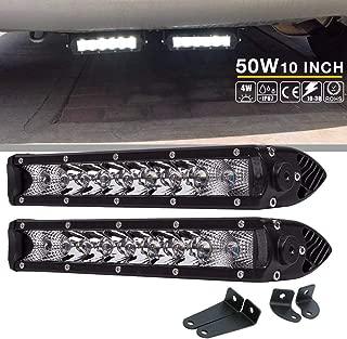 QuakeWorld DOT Led Light Bar 2PCS 50w 10