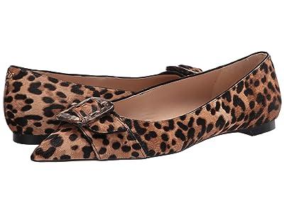Sam Edelman Sonja (Brown Multi Leone Leopard Brahma Hair) Women