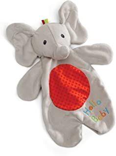 Baby GUND Flappy the Elephant Lovey Plush Stuffed Blanket & Puppet, 11.5""
