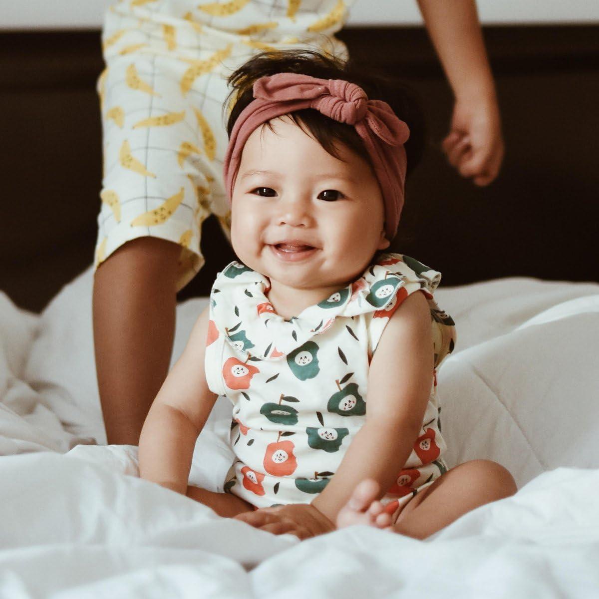 Babysoy Fruit Pattern Short Sleeve Bodysuit//Onesie