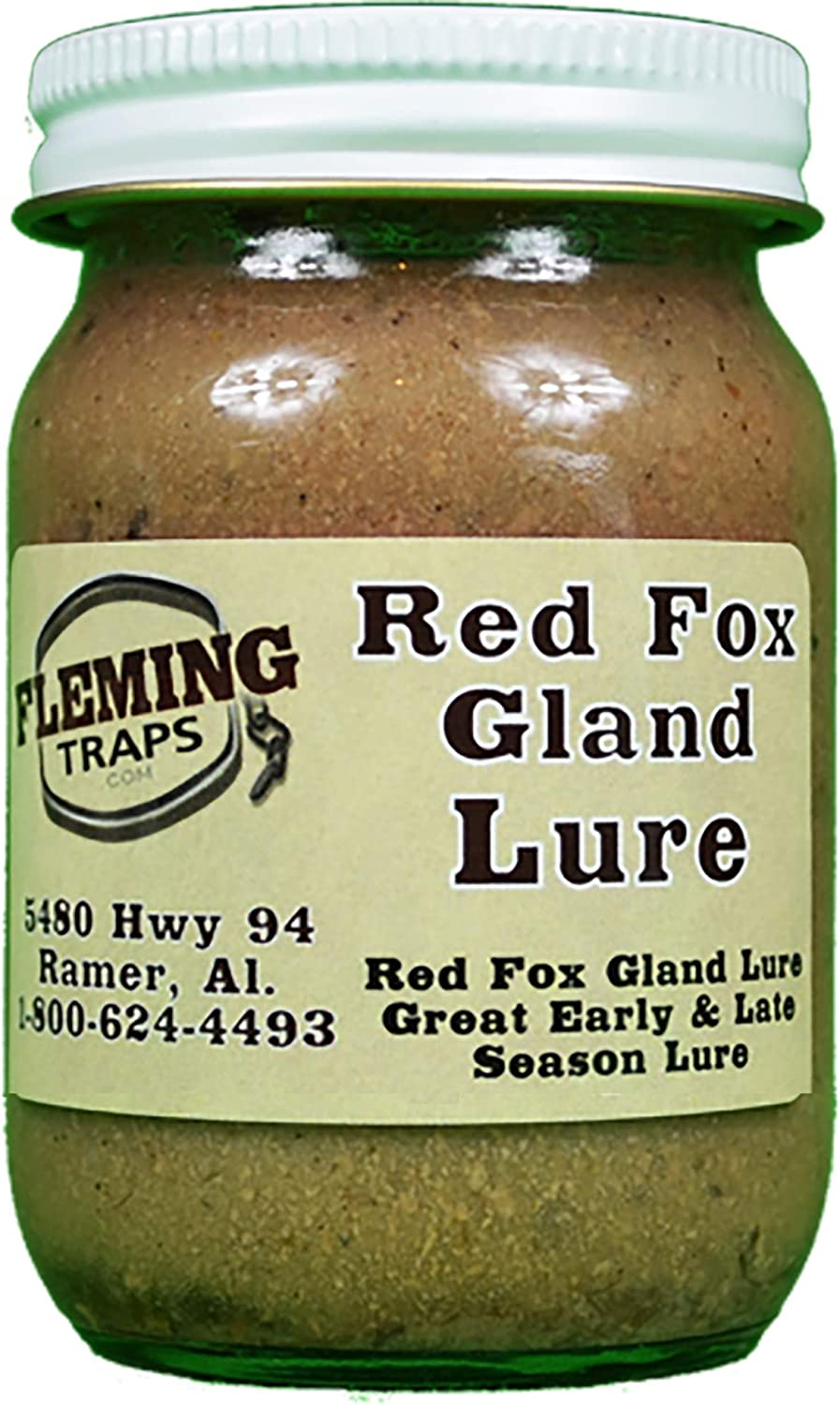 Fleming Traps Red Max 70% OFF Fox Gland Manufacturer direct delivery - 4 Lure oz.