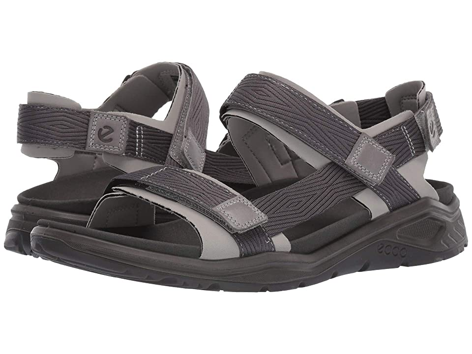 UPC 809704880808 product image for ECCO Sport X-Trinsic Textile Strap Sandal (Wild Dove/Dark Shadow Textile) Men's  | upcitemdb.com