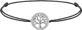 J.Endéar Tree of Life Anklet for Women Girls Sterling Silver Summer Beach Rope Anklets Love Friendship Gift Handmade 37cm Adjustable