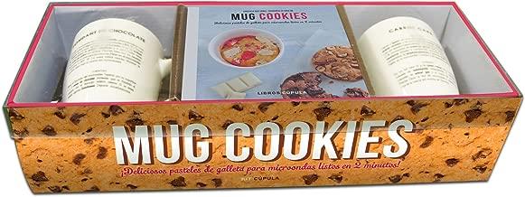Kit Mug cookies: Deliciosos pasteles de galleta para microondas ...