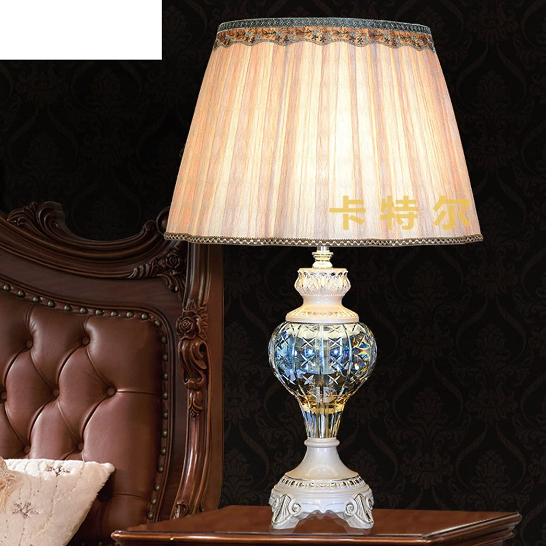 Neo-klassischen Tischleuchte Kreative Mode-tischleuchte Europäische Kristall Tischleuchte Schlafzimmer Schlafzimmer Schlafzimmer Bett Lampe-A B071S3CSVQ | Deutschland Shop  989db8