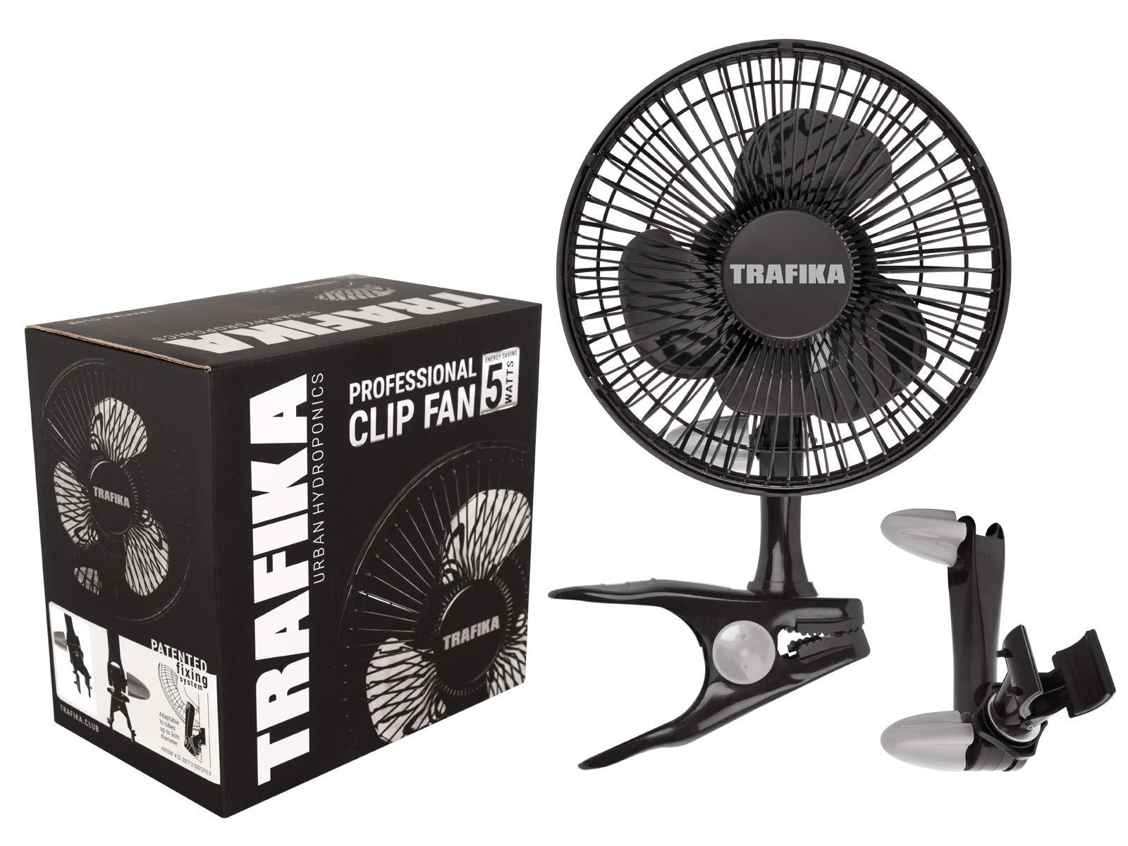 TRAFIKA Clipfan/Ventilador 15cm/5W/Motor Magnético Bajo Consumo ...