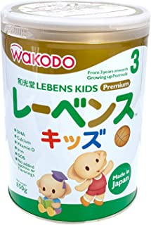 Wakodo Lebens Growing-Up Milk Formula, 3-6 years, 850g