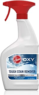Hoover Oxy Spot and Stain Remover, 22oz Pretreat Spray Formula for Carpet and Upholstery, AH30902, White