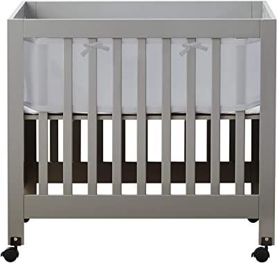 Amazon Com Davinci Alpha Mini Rocking Crib In Natural